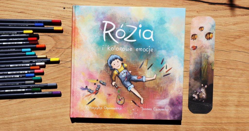 Książka dla dzieci o emocjach - Rózia i kolorowe emocje