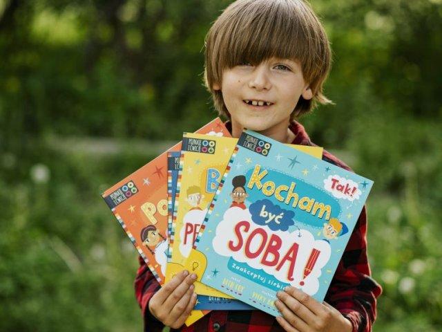 Seria TAK! Poradniki motywacyjne dla dzieci
