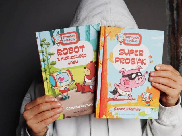 Nowa seria komiksów dla początkujących czytelników Bitmaks i spółka